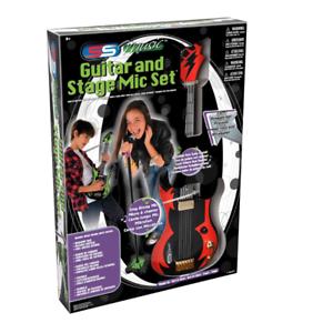 Ensemble d'intérieur électronique d'instrument de musique de jeu de guitare d'enfant avec l'instrument d / d d'étape 5012866092087