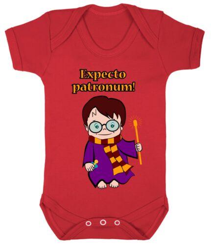 Harry Potter Garçon Fille Révélateurs Babygrow combi Costume Cadeau 100/% coton 0-24