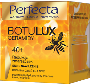 Details about Perfecta BOTULUX Ceramides 40+ Anti Wrinkle Cream MANUKA  HONEY Bees Peptides