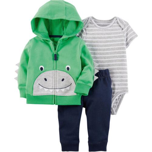 Kurzarmbody Jerseyhose für Jungen 7649876 Neu carter`s Baby Set Sweatjacke
