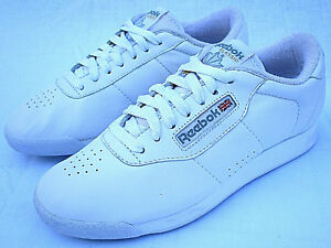 bf89238412853 New NOS Vintage Reebok Classic low Top White Sneakers Shoes Women s ...
