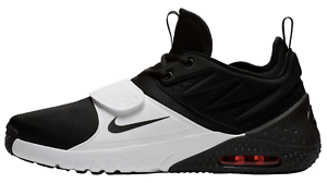 New! NIKE AIR MAX TRAINER 1 0835002 MEN'S Black/White/Red Blaze Training Shoe c1