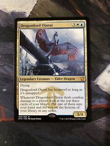 Dragonlord-Ojutai-Near-Mint-NM-Dragons-of-Tarkir-Magic-the-Gathering-MTG-Mythic