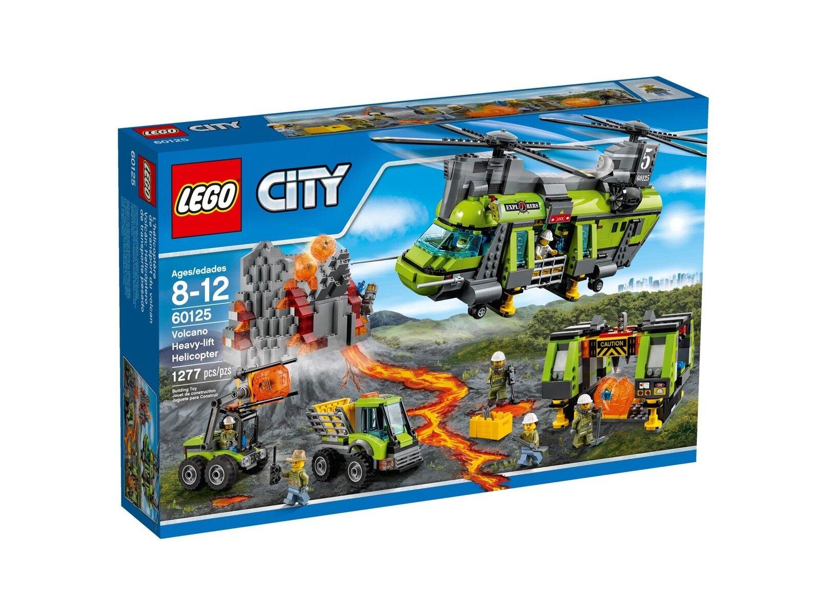 LEGO® City 60125 Vulkan-Schwerlasthelikopter Neu & OVP