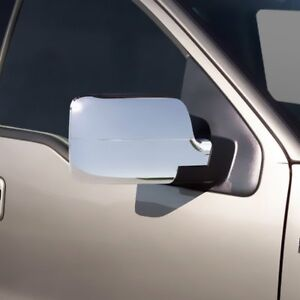 2004-2008 Ford F150 Chrome Mirror Covers