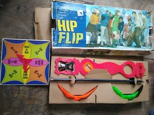 Vintage 1968 Hip Flip swinging party game by Parker Brothers used awesome rare