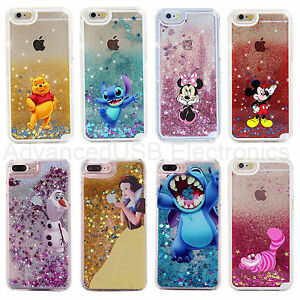 coque iphone 7 plus paillette liquide