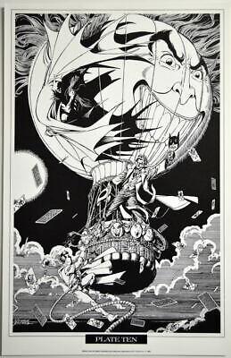 Batman and Robin Origin Fine Art Print by George Perez Signed!