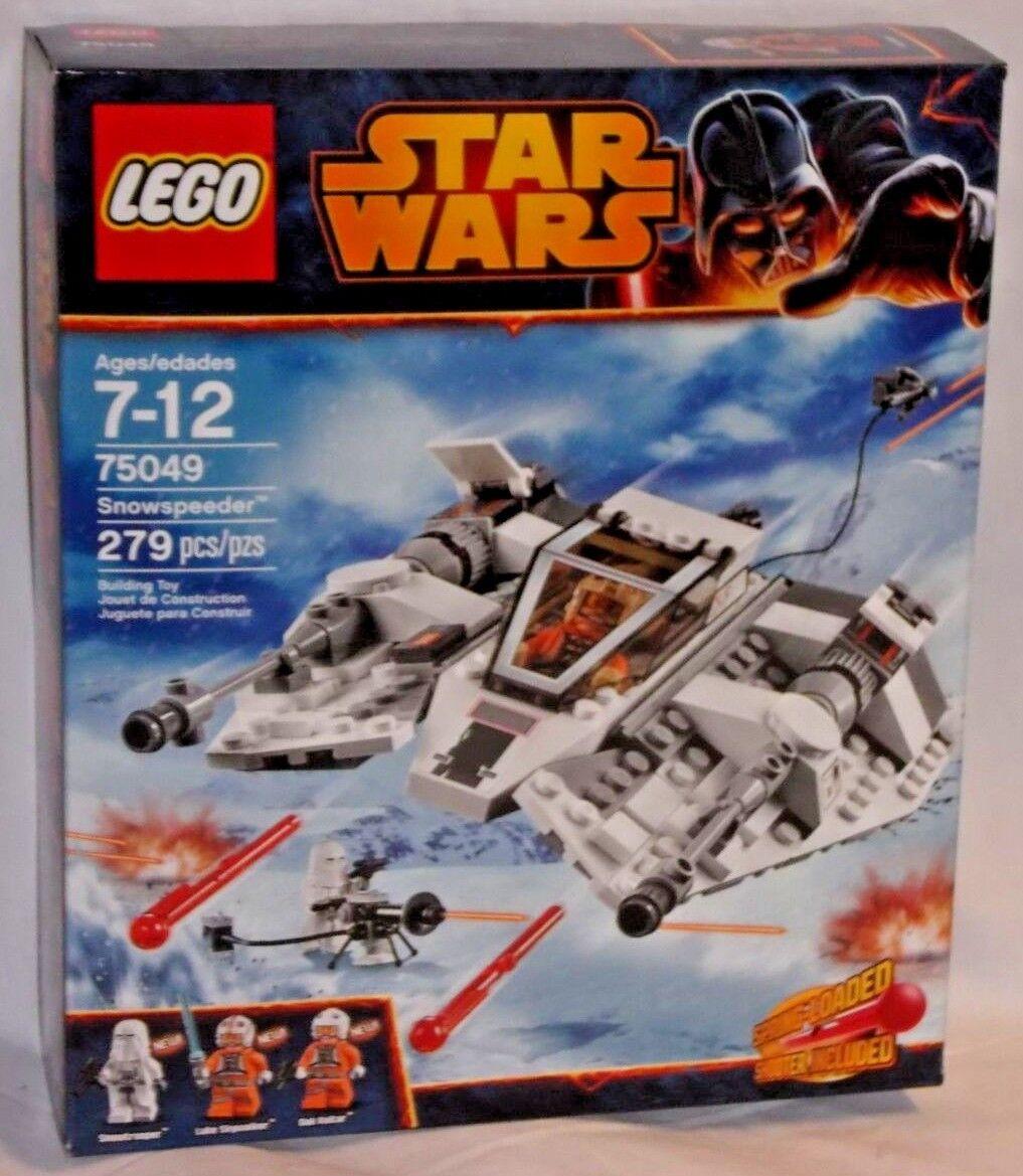 Scellé 75049 lego star wars Snowspeeder vaisseau spatial Snowtrooper Luke Skywalker Set