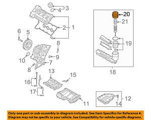 HYUNDAI OEM 09-12 Veracruz 3.8L-V6 Engine-Filter Cover 263503C300   eBayeBay