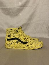 21805a8cc0 item 2 Vans x Peanuts Snoopy Sk8-Hi Charlie Brown Maize high top yellow Men  US 10 -Vans x Peanuts Snoopy Sk8-Hi Charlie Brown Maize high top yellow Men  US ...