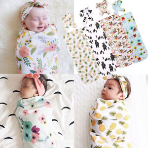 Soft Muslin Newborn Baby Wrap Swaddling Blanket Newborn Infant