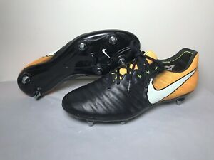 half off 82b2d b32d0 Details about Nike Tiempo Legend VII 7 SG Flyknit ACC Soccer Cleats  921452-009 Size 8.5