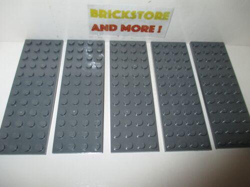 Plate Plaque 4x12 12x4 3029 Dark gray//gris//grau Lego Choose Quantity