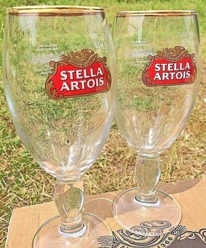 PACK of 2 GLASSES STELLA Half Pint Glass