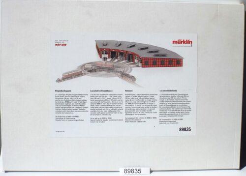 Märklin 89835 Kit Ergänzungsset ringlokschuppen #neu dans neuf dans sa boîte #
