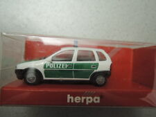 Herpa 042291 Opel Corso Polizei aus Sammlung in Faltschachtel (2016)