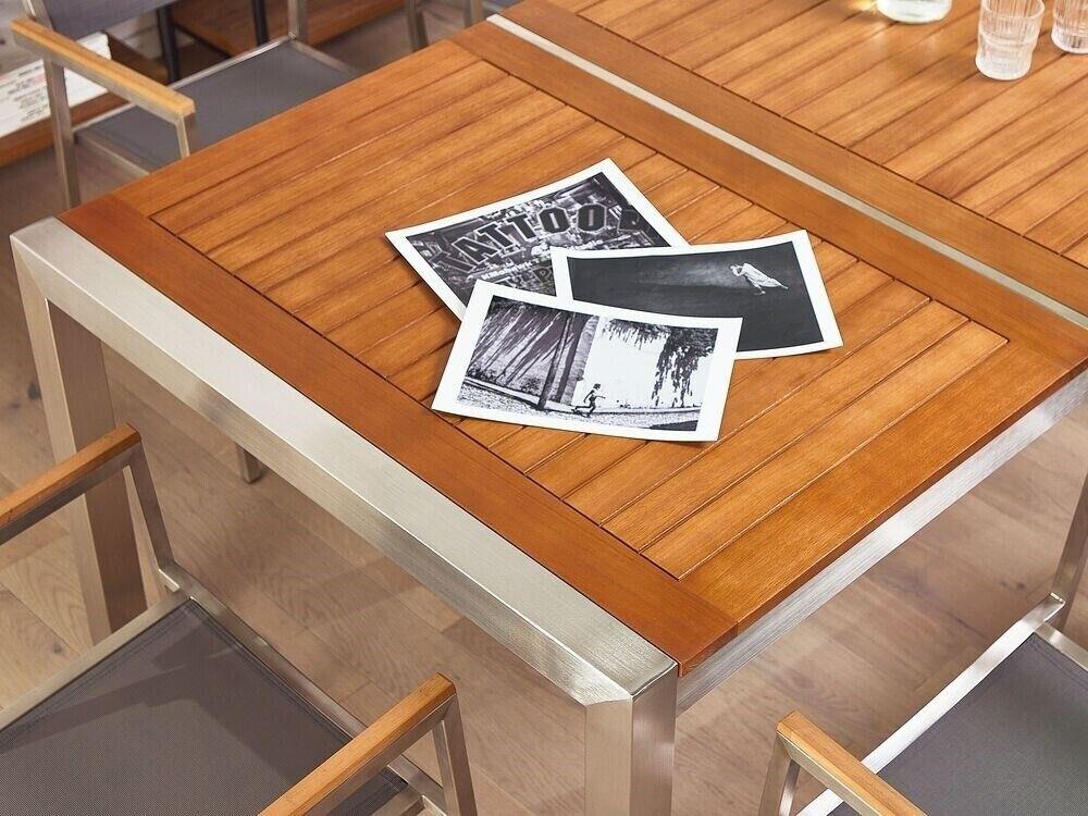 Havemøbelsæt, Beliani, Træ, Få 10% rabat på dit køb. Beny