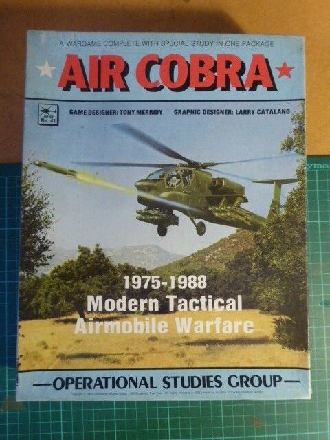 Air Cobra (Complete) by Operational Studies Group OSG Board Wargame