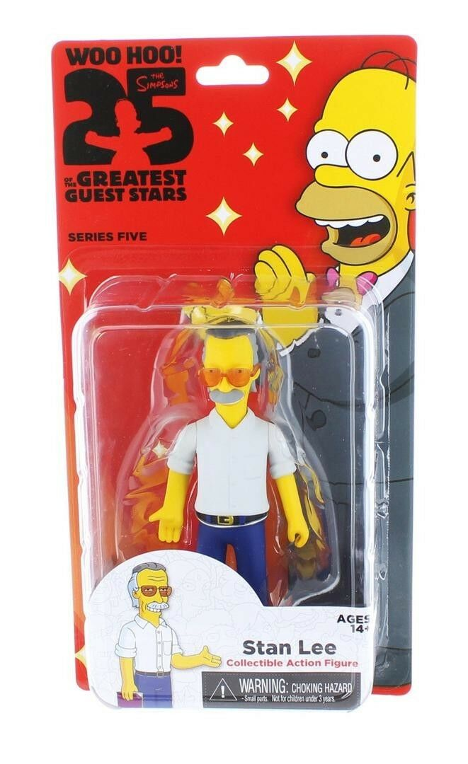 The Simpsons 25th Anniversary Series 5 Stan Lee Action Action Action Figures e0a32d