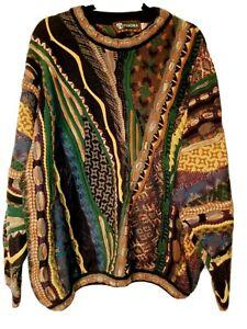 COOGI Stil Tundra Canada Pullover Vintage XL Biggie Smalls Hip Hop Kanye
