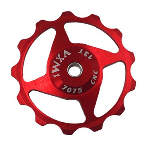 11T//13T MTB Road Bike Bicycle Pulley Alloy Rear Derailleur Bearing Jockey Wheel