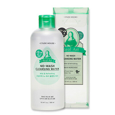 [Etude House] Real Art No-Wash Cleansing Water 300ml