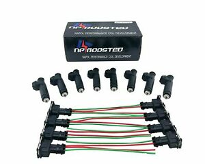 8-Fuel-Injectors-60LB-630cc-fits-Siemens-Deka-Bosch-Ford-BMW-Buick-EV1-FI114961
