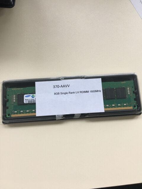 370-AAVV 8GB DDR3-1600 (PC3-12800) 1024x72 CL11 1.5v 240 Pin Arbeitsspeiche