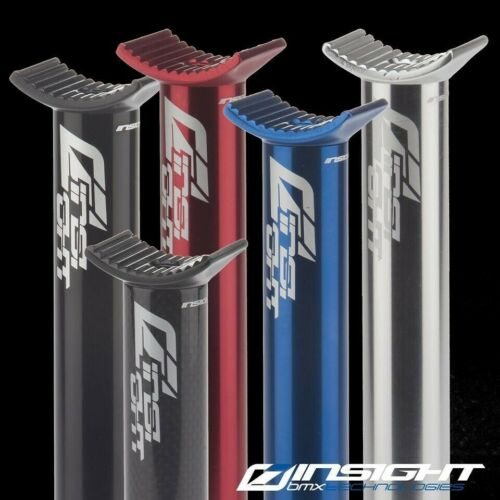 Details about  /Insight BMX Pivotal Alloy Seat Post Size 27.2mm Length 250mm Black