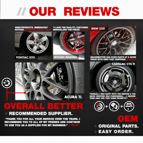 For Audi A3 TT Volkswagen Cc Eos GTI Jetta Passat Tiguan Front Brake Rotors