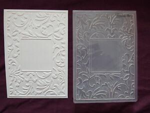 Crafts-Too-CTFD3047-C6-Floral-Frame-Embossing-Folder