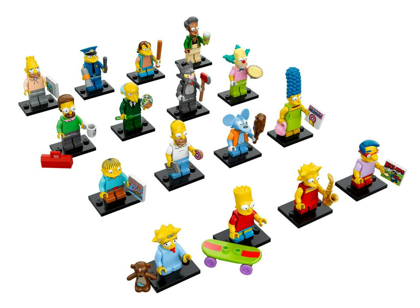 LEGO Simpsons Minifigures 71005 Complete Set of 16 NEW