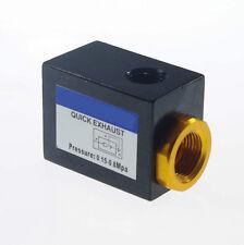"Pneumatic G1/8""  Inlet Port Air Quick Exhaust Valve  Aluminum QE-01"