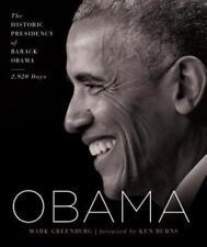 Obama : The Historic Presidency of Barack Obama--2,920 Days by Mark Greenberg (2017, Hardcover)