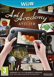 Art-academy-atelier-JEU-WiiU-NEUF