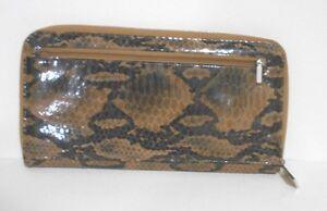 WhoMi-Brown-Animal-Print-Patent-Leather-Outsize-Zipper-Wallet-11-034-x6-034