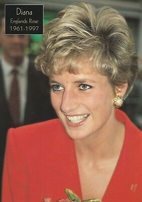 ***original Postcard***prinzessin Diana-windsor-wales-adel-royal-london