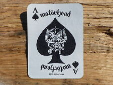 ECUSSON PATCH THERMOCOLLANT aufnaher toppa MOTORHEAD lemmy musique hard rock