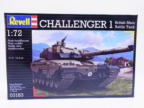 Revell 03183 Challenger battle tank 1:72 Bausatz NEU OVP LOT 54162 Sonderpreis