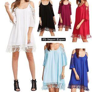 Vestito-Copricostume-Mini-Abito-Donna-Caftano-Mini-Dress-Cover-up-Kaftan-COV0037
