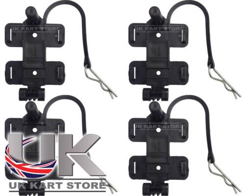 Amb 160//260 Standard /& Flex Transponder Halter mit Clip X 4 Go Kart