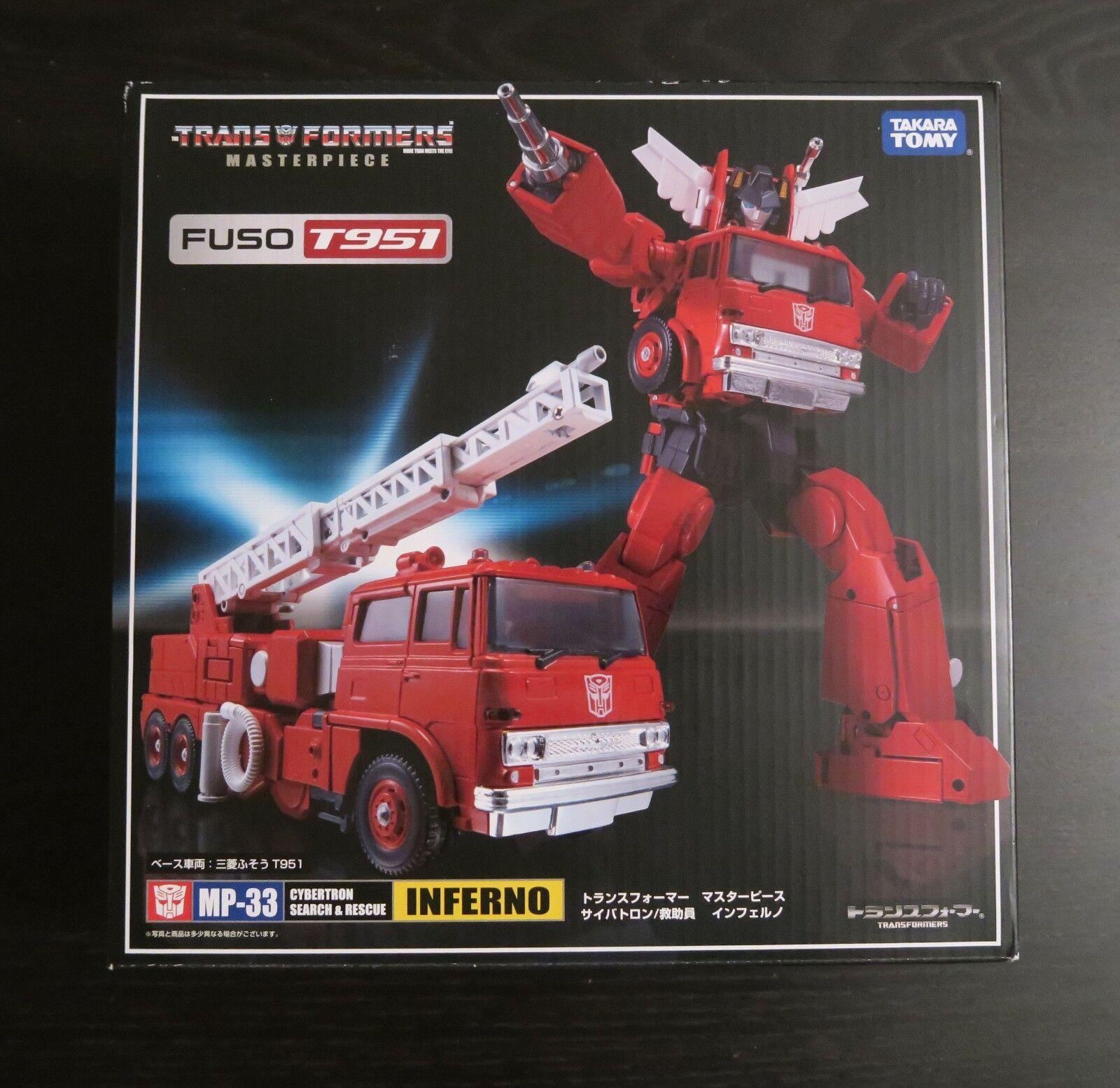 alta calidad Transformers Transformers Transformers Takara Masterpiece MP33 Inferno  las mejores marcas venden barato