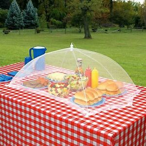 Image is loading GIANT-OUTDOOR-FOOD-PROTECTION-COVER-TENT-GRILLING-PATIO- & GIANT OUTDOOR FOOD PROTECTION COVER TENT GRILLING PATIO PICNIC BBQ ...