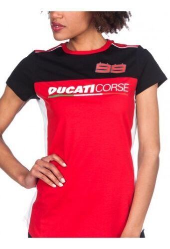 17 36016 Official Jorge Lorenzo Ducati Corse Woman/'s T-Shirt