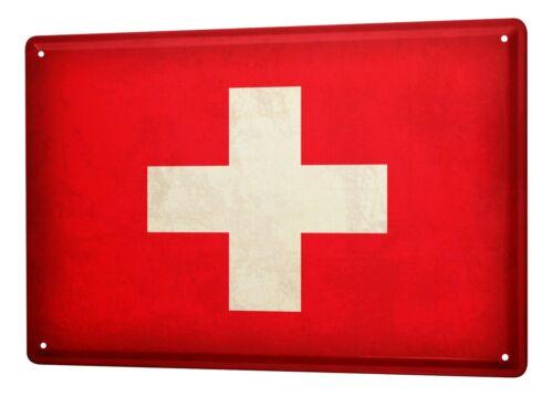 Details about  /Plaque ?maill?e Ale Aventurier drapeau suisse