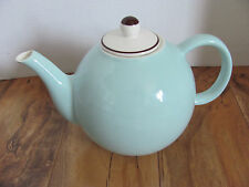 Pagnossin Audrey - Robin Egg Blue /Brown Verge -Made in Italy - 4 Cup Teapot