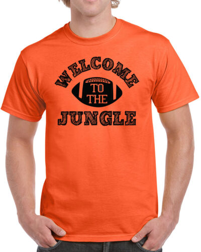 330 Welcome to the Jungle mens T-shirt funny football playoffs cincinnati retro