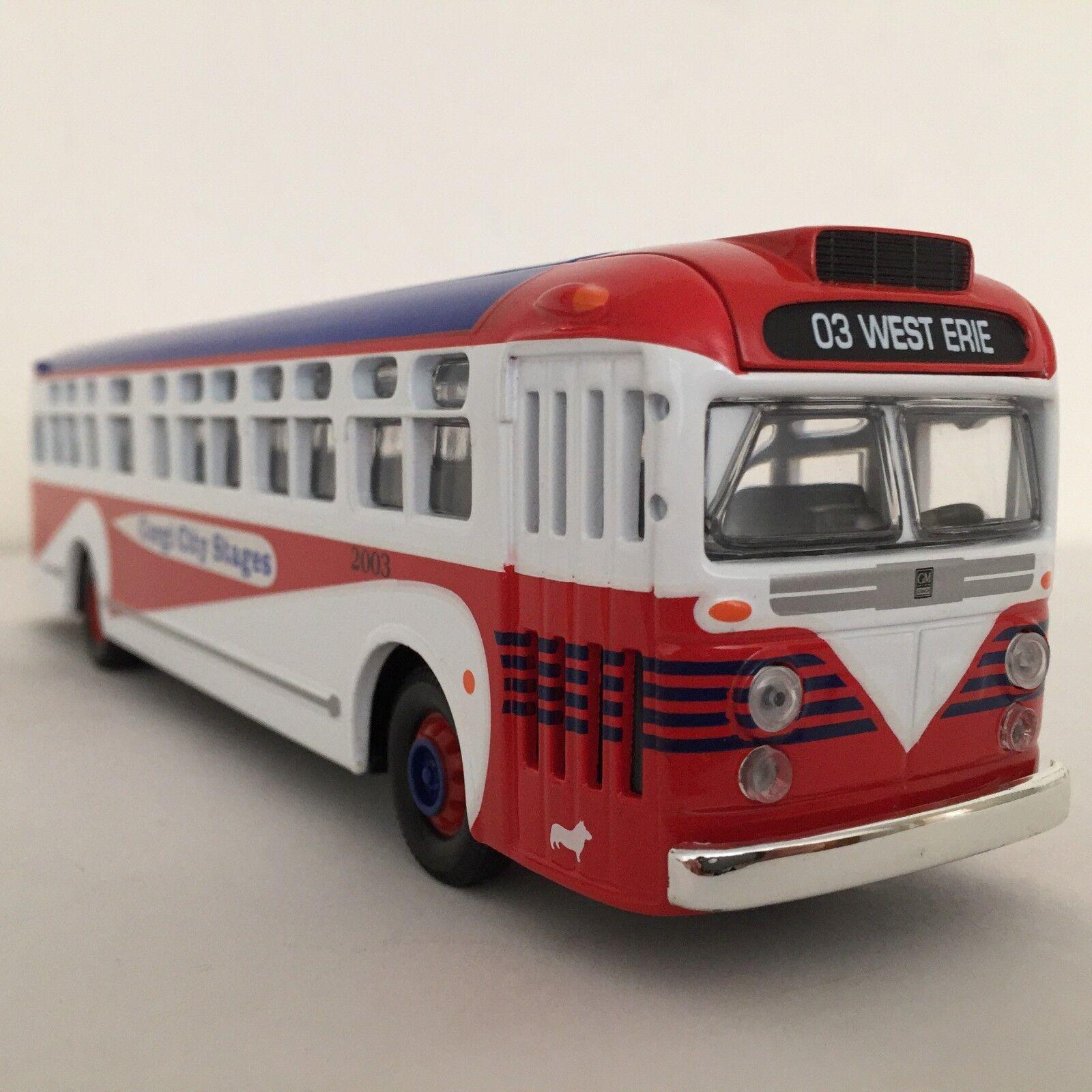 Corgi US54018 GM 4503  Old Look  Bus - Corgi City  1 50 NIB      RARE