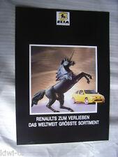 Elia Renault Tuning Prospekt / Brochure / Depliant, D